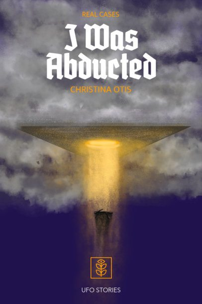 Sci-Fi Book Cover Maker for an Alien Abduction Book  521c