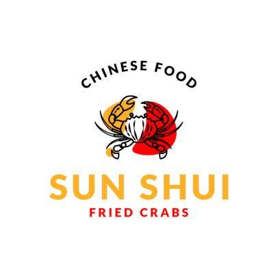 Chinese Restaurant Logo Maker for Crab Houses 1672