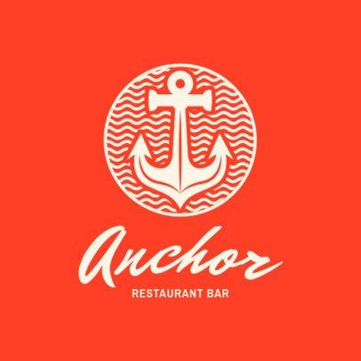 Bar Logo Maker for a Restaurant Bar 1760e