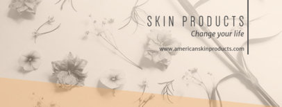 Facebook Cover Template with an Elegant Design 1086c