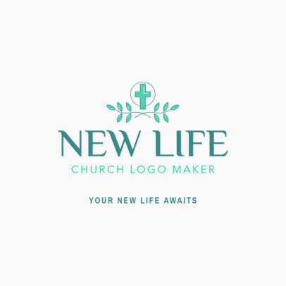 Elegant Church Logo Maker 1769a