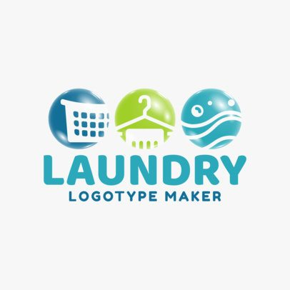 Laundry Logo Maker 1773