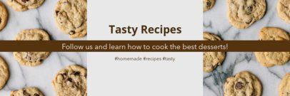 Twitter Header Maker for a Recipe Account 1093a
