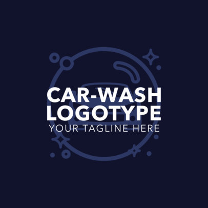 Car Wash Logotype Generator 1757