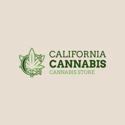 Cannabis Store Logo Generator 1781b
