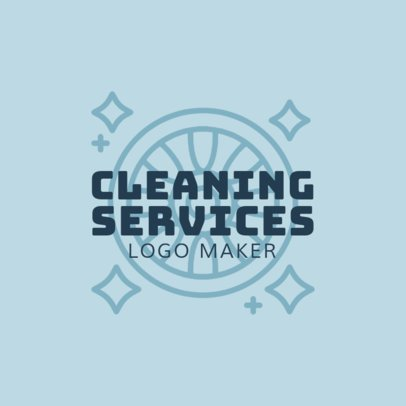 Cleaning Services Logo Maker for a Car Wash Company 1757a