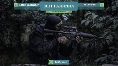 Twitch Overlay Maker for Sniper Video Games 1066e