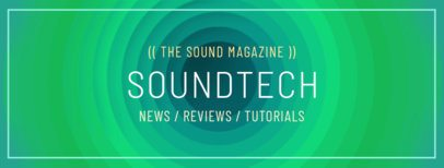 Facebook Cover Maker for a Sound Technology Account 1088a