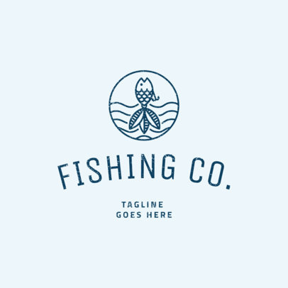 Fishing Logo Maker 1794