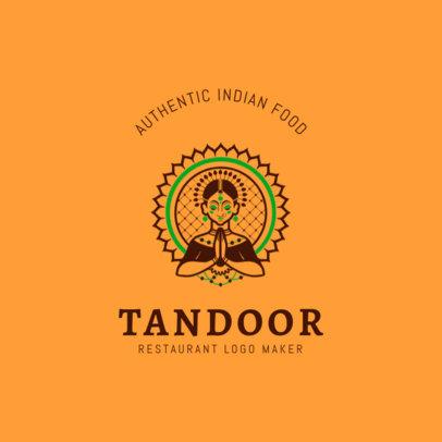 Logo Maker for an Indian Food Restaurant 1836