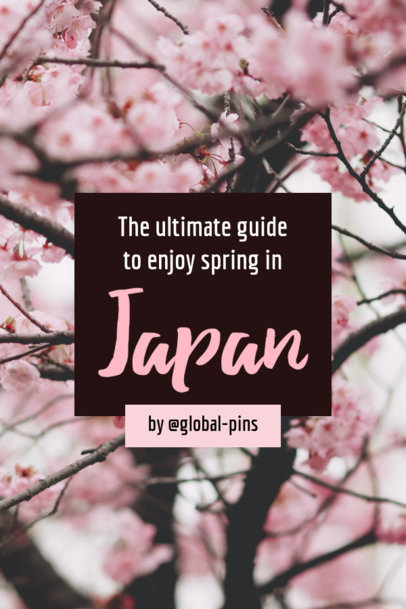 Pinterest Pin Template for a Travel Post 1128
