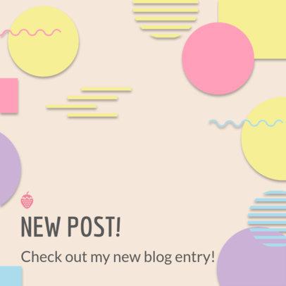 Instagram Post Maker for Bloggers 1100d