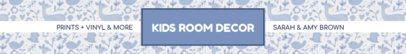 Etsy Shop Banner Template for Interior Design Shops 1114e