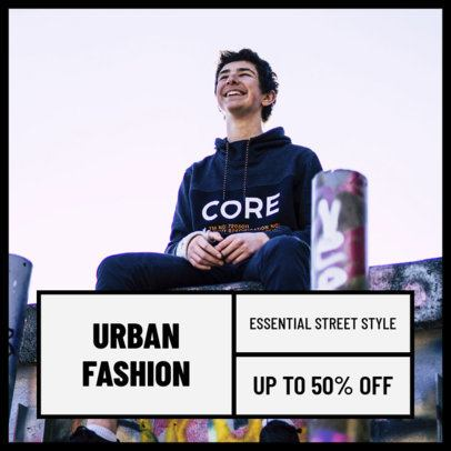 Instagram Post Maker for Urban Fashion Accounts 1101c