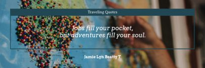 Twitter Header Creator for Adventurous Quotes 1092d