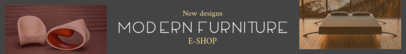 Etsy Banner Template for Furniture Stores 1120a