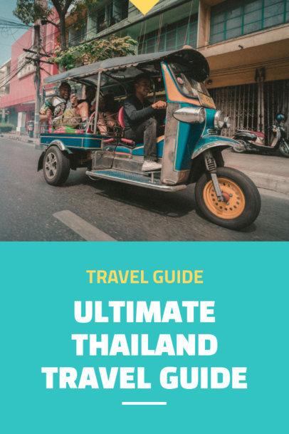 Thailand Travel Guide Pinterest Maker 1125d