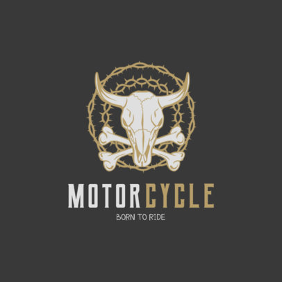 Biker Friendly Bar Logo Maker 1764