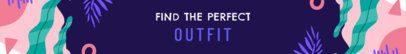 Fashionable Etsy Banner Template 1119e