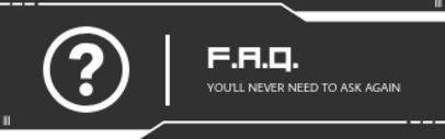 FAQ Twitch Panel Template 1106b