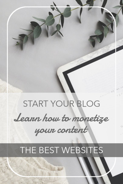 Pinterest Template for a Blog Tips Post 1127b