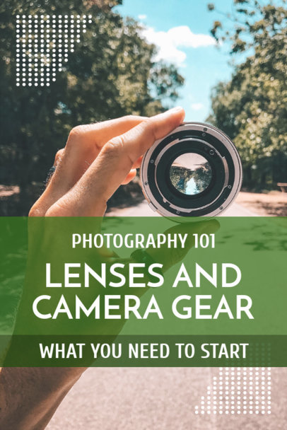 Pinterest Pin Generator for a Photography Tutorial 1127d