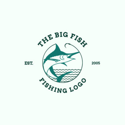 Fishing Logo Maker with Fish Clipart 1793a