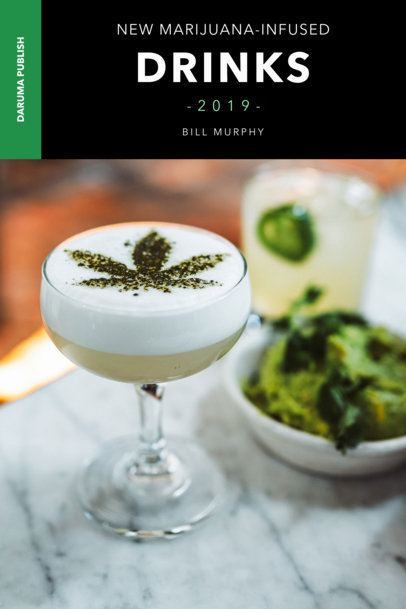 Book Cover Maker for Marijuana Beverages 919