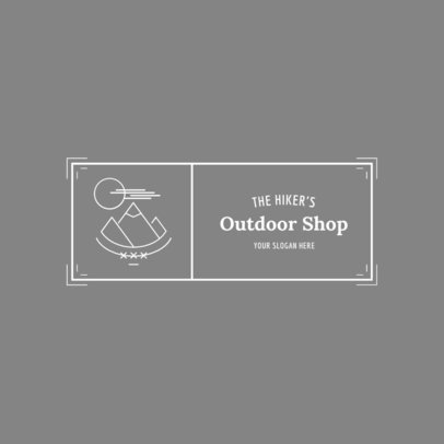 Badge Logo Maker for Outdoor Gear Stores 1784d