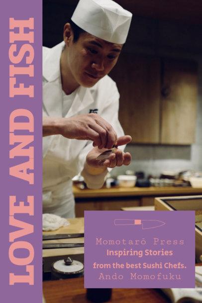 Elegant Cookbook Cover Template 925c