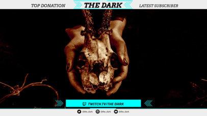 Twitch Overlay Maker for Supernatural Horror Games 1072d