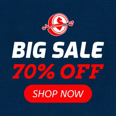 Banner Maker for a Black Friday Sale with Bold Text 755a