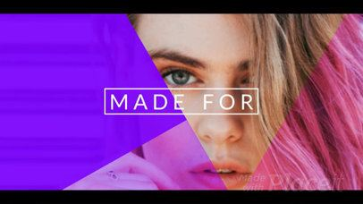 Beauty Intro Maker for Fashion and MUA Vloggers 1169