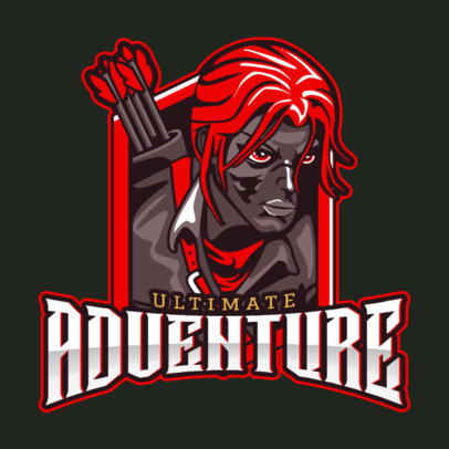 Gaming Logo Maker for eSports Adventure Teams 1749