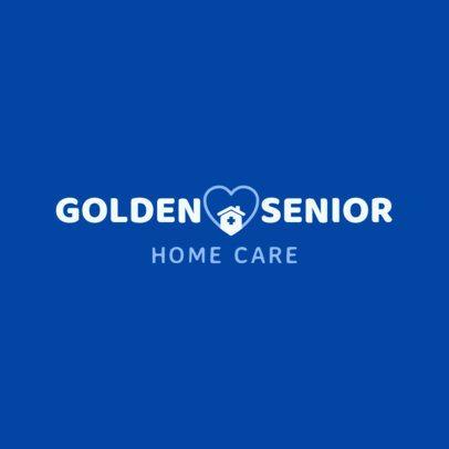 Senior Home Health Care Logo Template 1804d