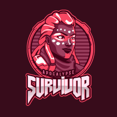 eSports Logo Template for Survival Gamers 1749d