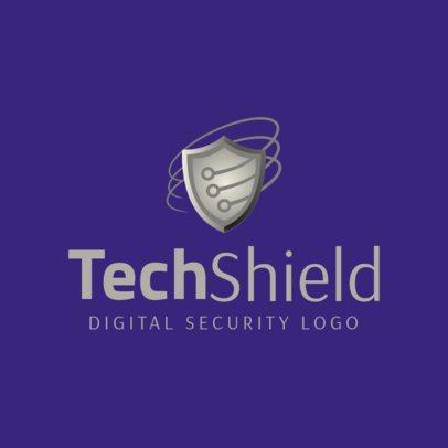 Tech Security Logo Maker 1790e