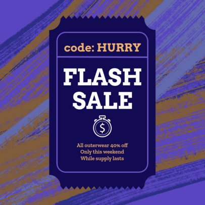Coupon Design Maker For Flash Sale Offers 1023b-1903