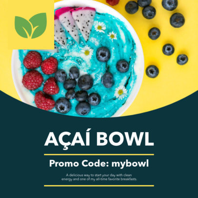 Colorful Discount Coupon Template for a Food Promo 1009d