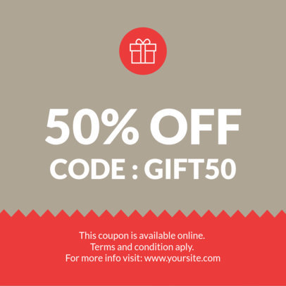 Placeit - Coupon Design Maker for a Birthday Coupon