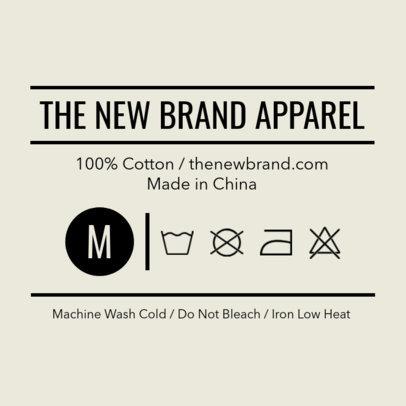 T-Shirt Label Maker | Design Templates | Placeit