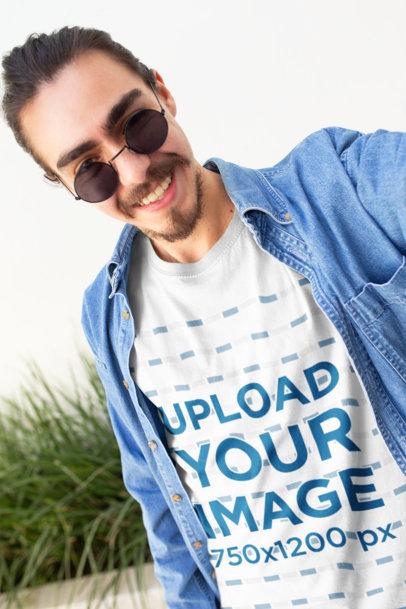 Selfie T-Shirt Mockups