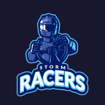 eSports Logo Maker for Racing Gamers 1745