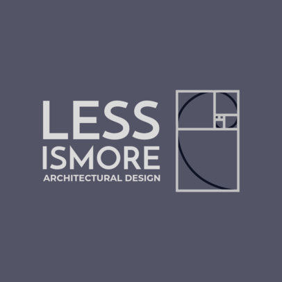 Architect Logo Maker in Black and White 1210i
