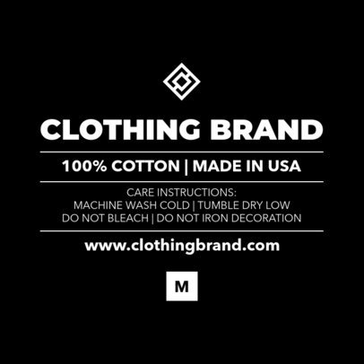 Placeit - Inside Tag Template for Clothing Brands
