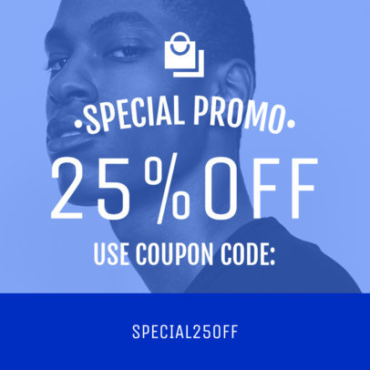 Coupon Design Maker for a Special Promo Coupon 1022c