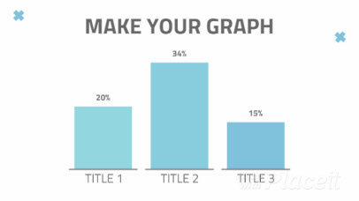 Slideshow Video Maker for an Animated Graph 1354