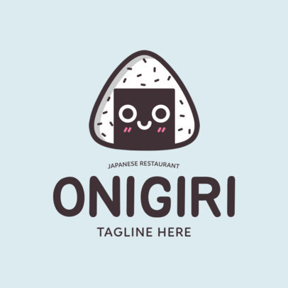 Placeit - Funny Logo Design Generator for a Japanese Restaurant