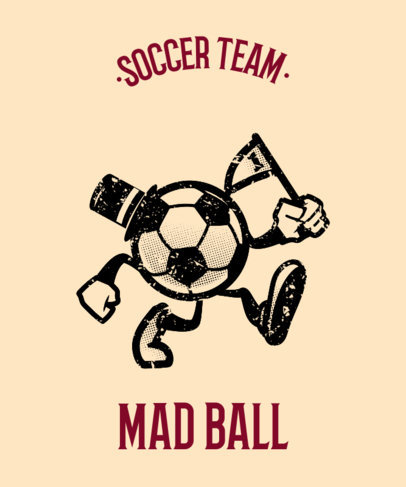 Sports Tee Design Maker for Soccer Teams 11f