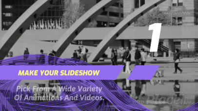 Slideshow Video Maker with Sketched Animations 1239